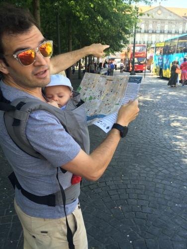 Viajando con un bebé